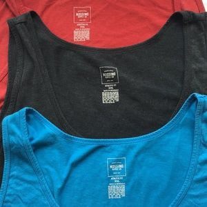 Mossimo Supply Co Shirts Mossimo Athletic Fit Tanks Bundle Of 3